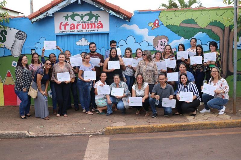 Capacitação dos agentes de leitura de Itarumã e Caçu (GO)