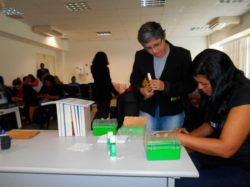 Capacitação dos agentes de leitura - CIASE, Serra e Vila Velha