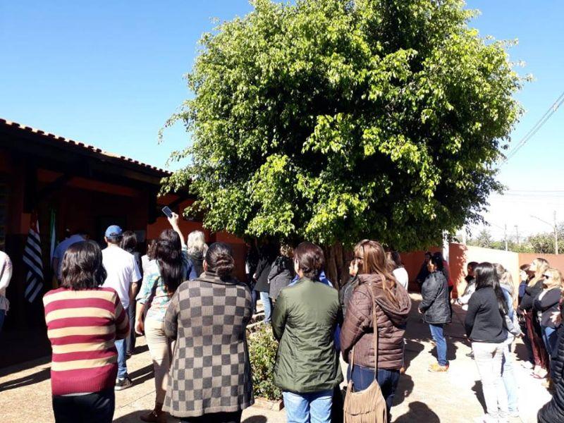 Inauguração - E.M. José Ferezinho, Arandu, SP