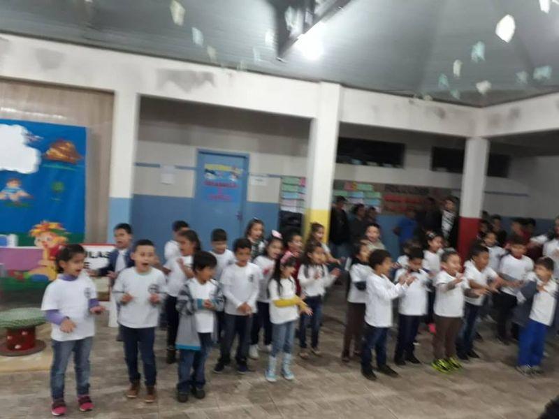 Inauguração - E.M. José Salles, Carlópolis, PR