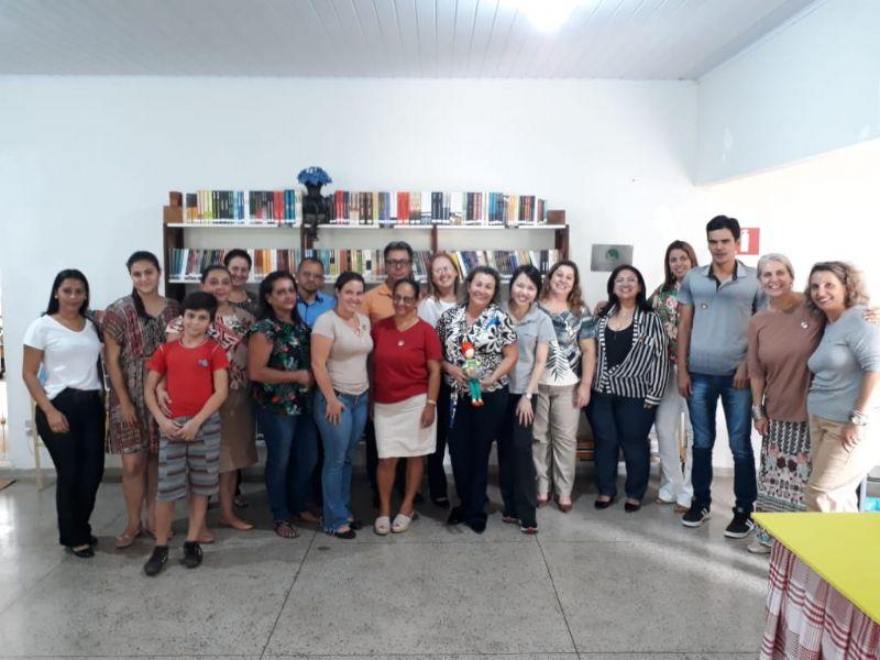 Prazer de Ler 2019 - Inauguração Biblioteca Ana D. P. de Assis