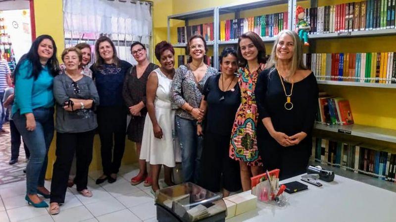 Prazer de Ler 2019 - Inauguração Escola São Judas Tadeu
