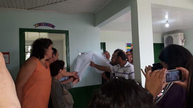 Prazer de Ler 2019 - Inauguração Núcleo Municipal Orival de Oliveira Branco, Cerro Negro, SC