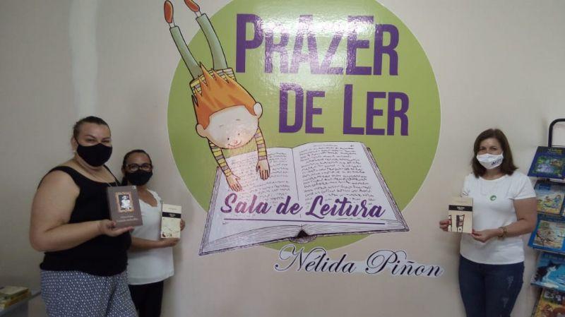 Prazer de Ler 2020 – Inauguração: Centro Vocacional Frei Paulino, Cândido Mota, SP