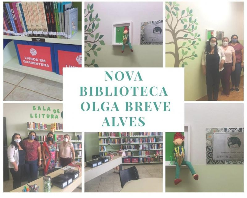Prazer de Ler 2020 – Inauguração: E.M. Olga Breve Alves, Cândido Mota, SP